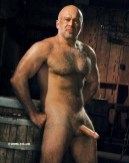 mature hung silver daddy manly masculine hung