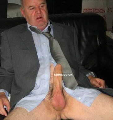dad 60 big erect dick
