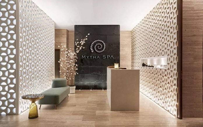 Mytha Spa reception area