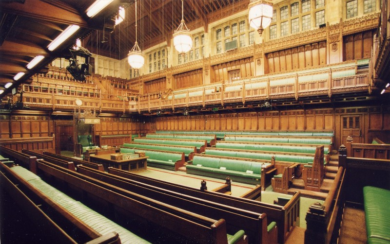 Image result for inside the house of commons