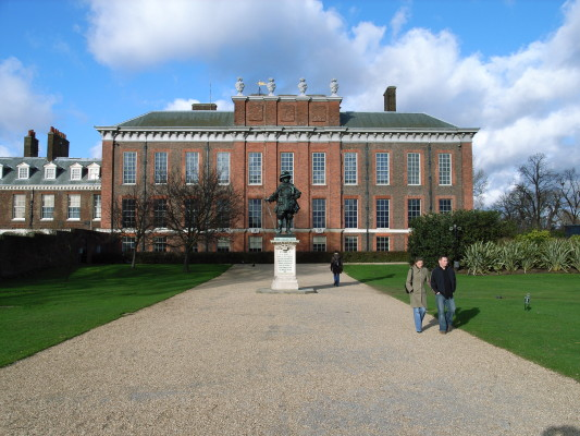 Kensington Palace (1661-1702) by Christopher Wren / Nicholas Hawksmoor