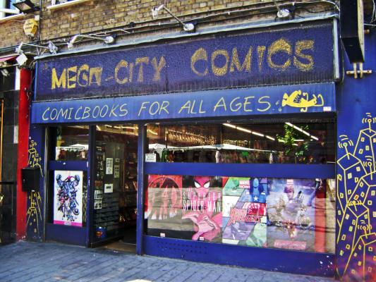 Mega-City Comics