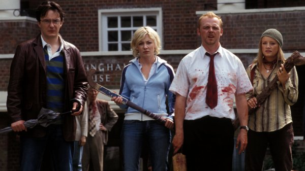 Quality: Original. Film Title: Shaun Of The Dead. Photo Credit: Oliver Upton. Copyright:  © 2004 Universal Studios. ALL RIGHTS RESERVED.