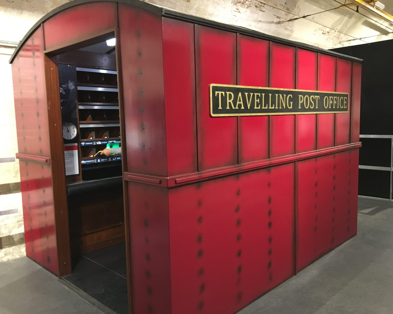 Mail Rail Exhibition - Travelling Post Office
