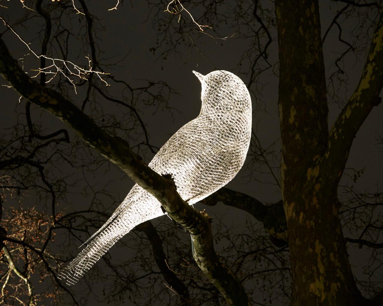 Was That a Dream? by Cédric Le Borgne, Berkeley Square, Mayfair. © MatthewAndrew