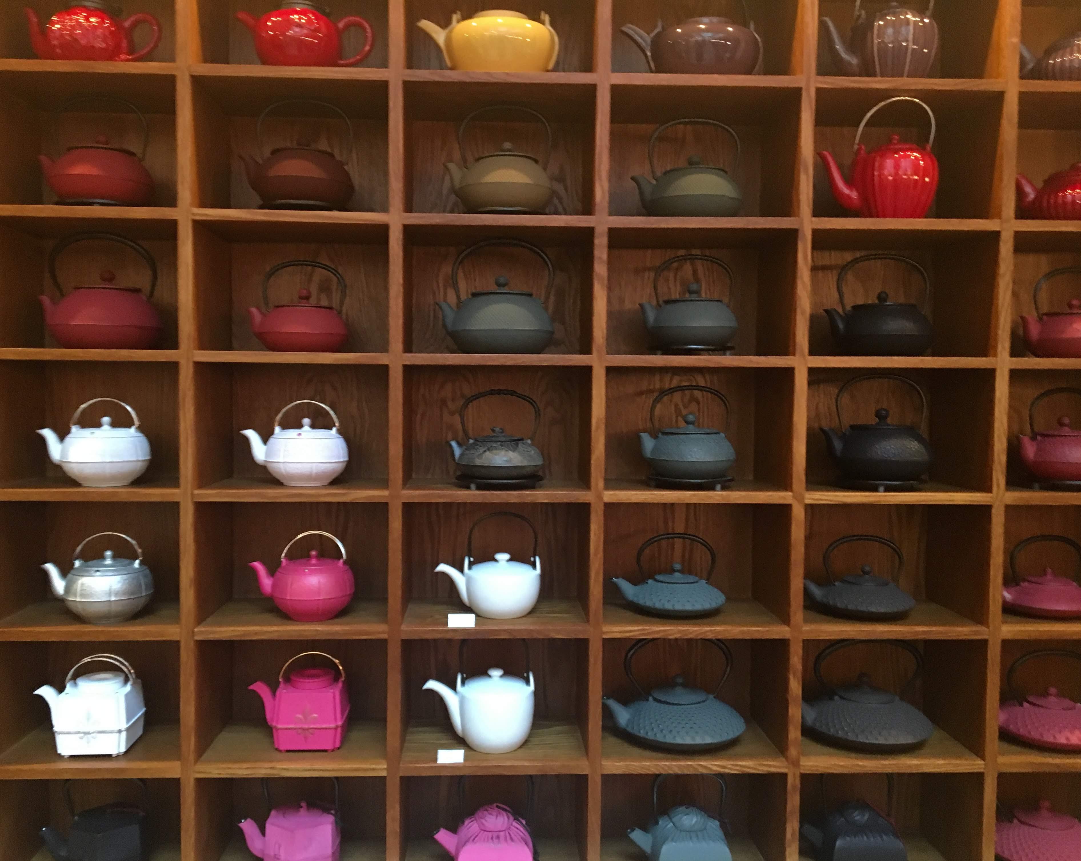 Mariage Frères teapots
