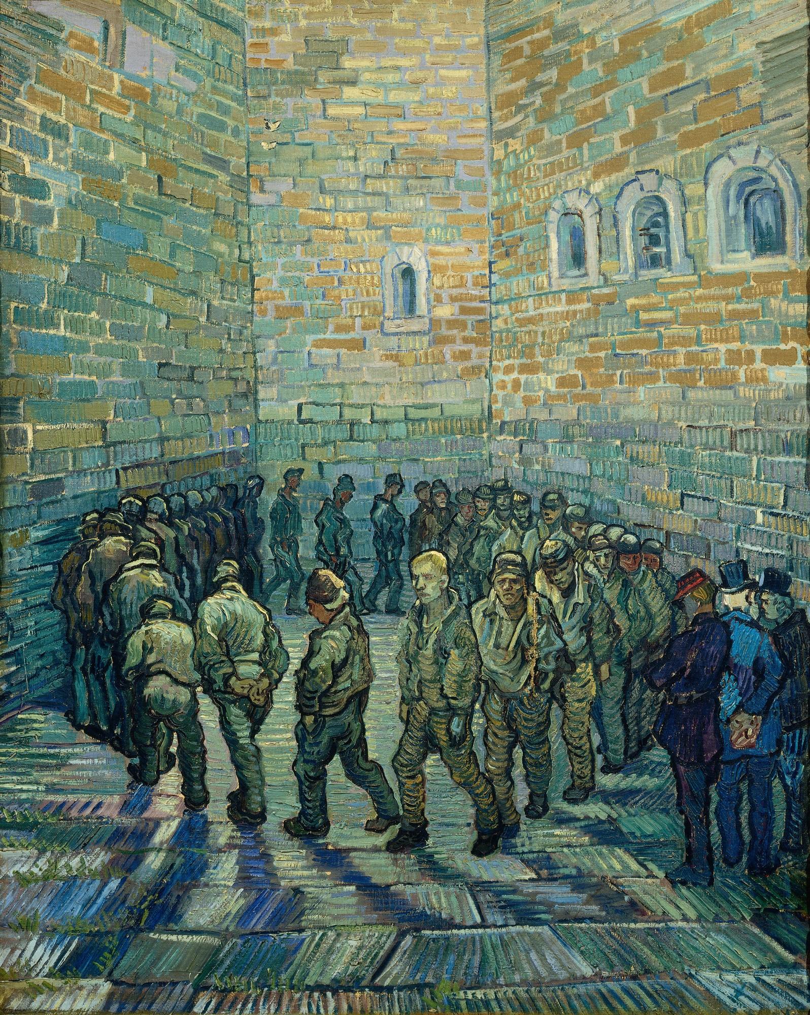 Vincent van Gogh - Prisoners Exercising