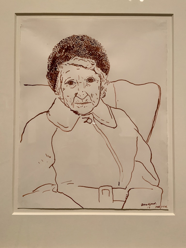 David Hockney - Mother, Bradford, 19 Feb 1979