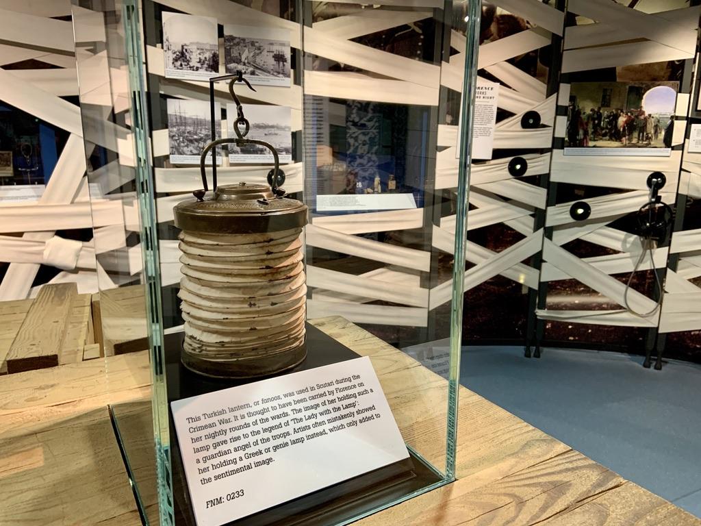 Florence Nightingale's lamp