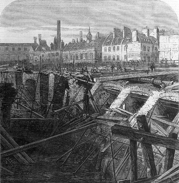 Metropolitan railway cutting