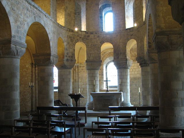St John's Chapel, 11th century, inside the White Tower