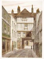 The Bull Yard, Aldgate Street, c.1890