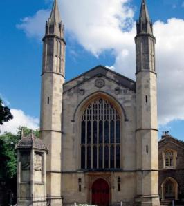 St Katharine's in Regents Park, now the Danish Church