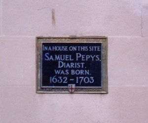 Pepys birthplace in Dorset Rise