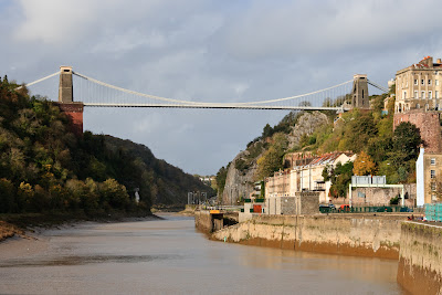 Clifton Suspension Bridge, with Brunel's chains