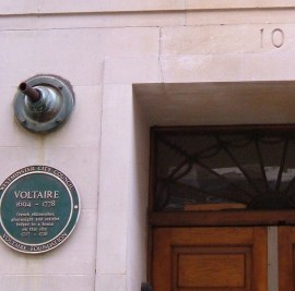 Voltaire lived here