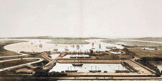 East India Docks, 1806