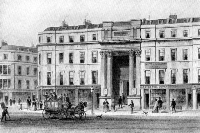 Exeter Hall, the Strand