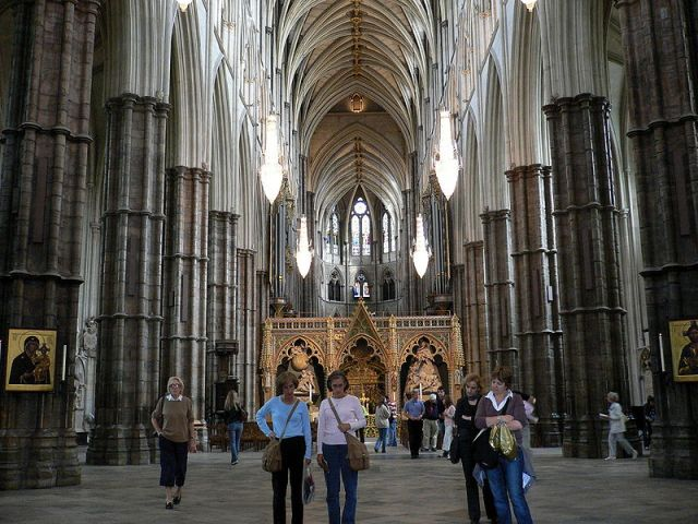 Westminster Abbey, interior