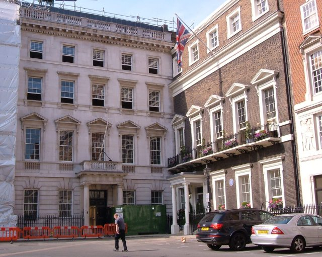 No.15 St James's Square, The London Library