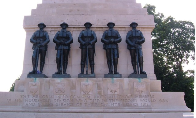 The Guards Memorial, Horse Guards Road