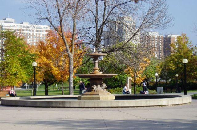 Original Trafalgar Square fountain, Confederation Park, Ottawa