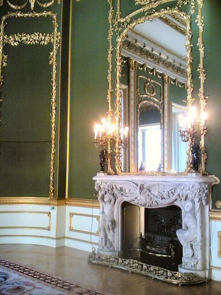 Lancaster House, fireplace