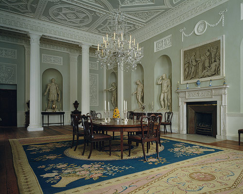 The Dining Room in the original Lansdowne House
