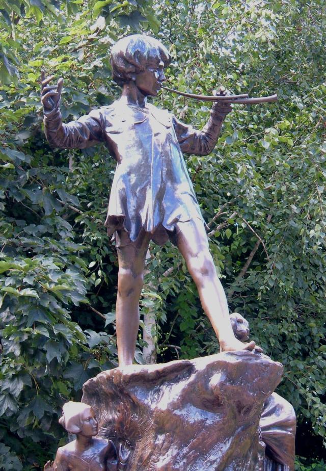 Peter Pan in Kensington Park