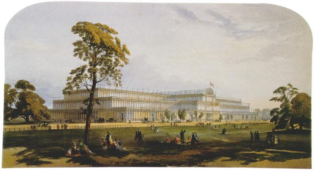 The Crystal Palace, from Dickinson's Compehensive Pictures