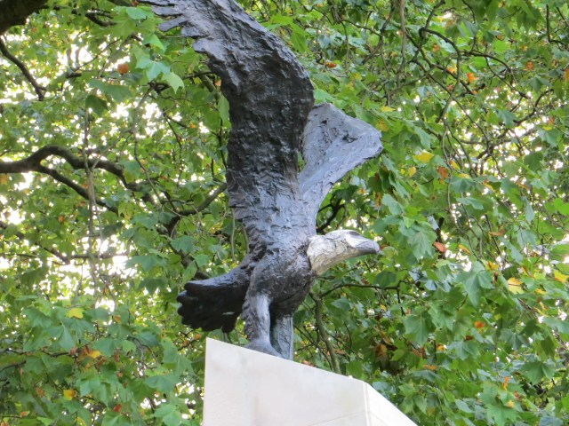 The Memorial to the Eagle Squadrons