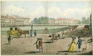 Bloomsbury Square, 1787