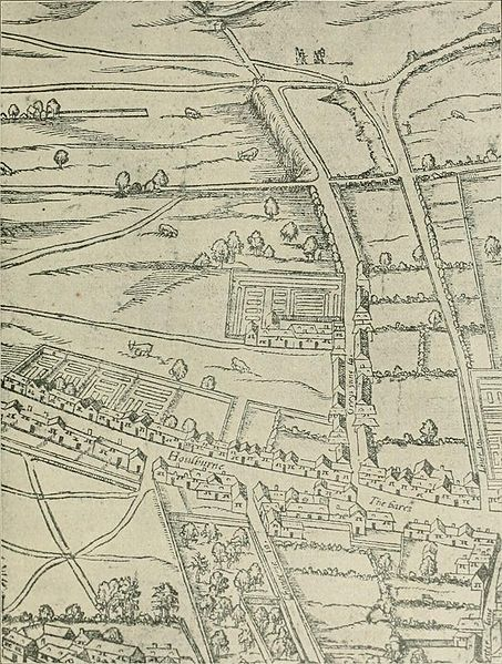 Gray's Inn, 1591, Agas