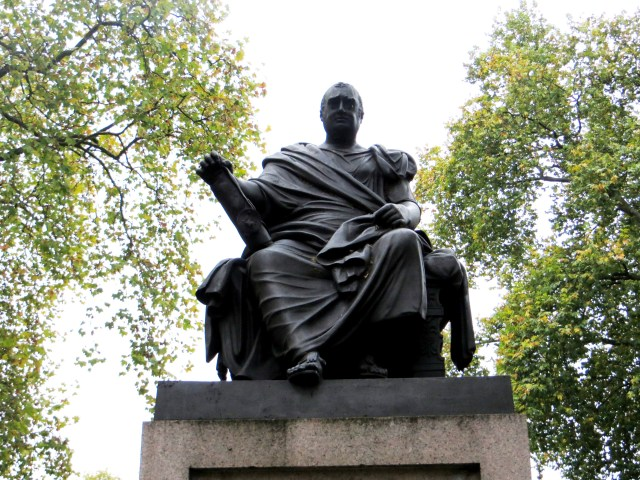 Charles James Fox, by Westmacott