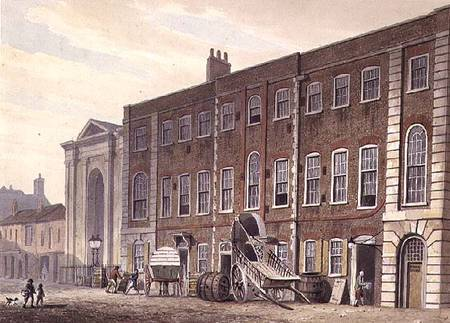 Lincoln's Inn Fields Theatre, in 1811, by Shepherd