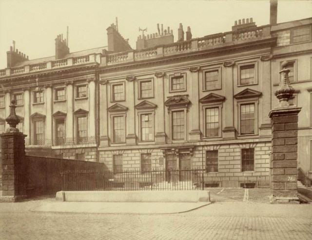 LIndsey House, 1882, image from the Museum of London