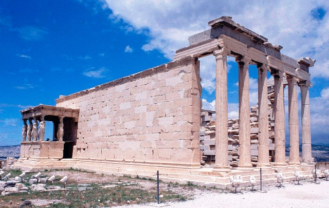 The Erechtheum, Athens