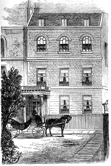 Tavistock House, demolished in 1901