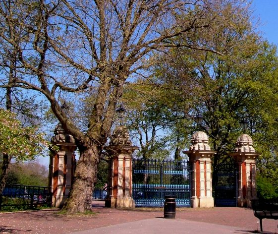 The Bonner Gate at Victoria Park