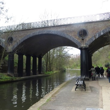 Regent's Canal Walk, No.8, from the Park to Grand Junction Basin