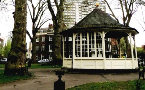 Enclosure in Northampton Square