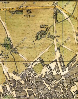 Bowles' map of 1775, (extract) Mapco