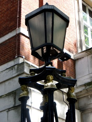 Lamp detail outside New River Head Building