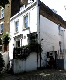 Charles Lamb's home, 64 Duncan Terrace