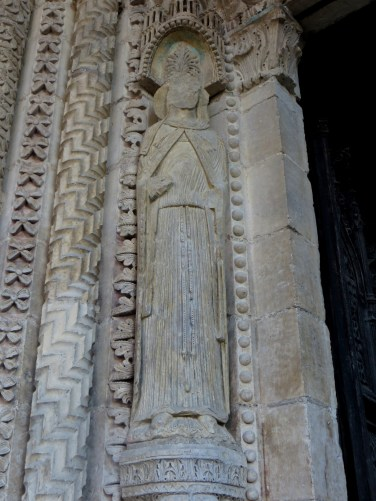The West Door of Bourges Cathedral