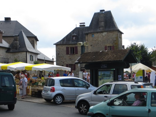 The market square, Correze