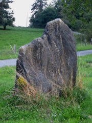'Standing stone' at Cayre