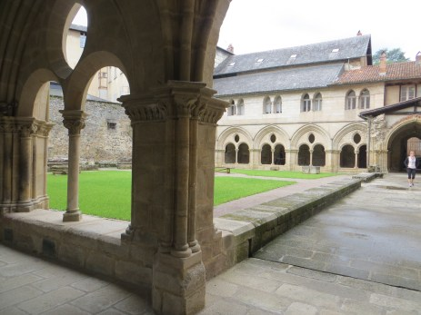 The cloister, Tulle Cathedral