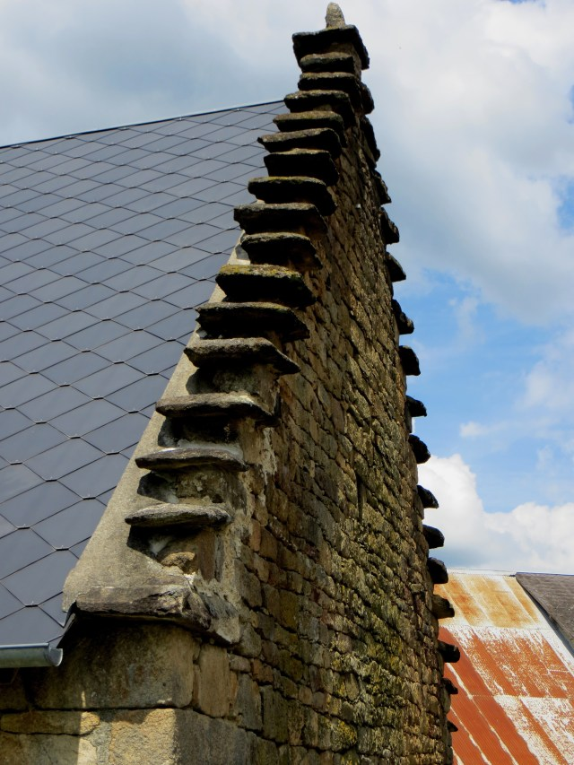 Stepped roofs in Chauzeix