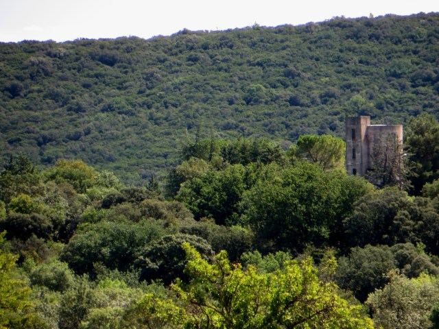A castle tower? Brouzet les Quissac